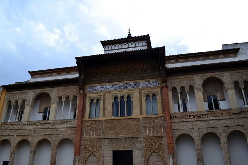 Fachada del Palacio de Pedro I