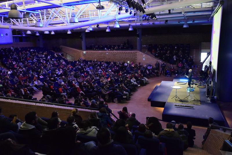 Oltre 2000 visitatori hanno atteso la Befana a Città della Scienza
