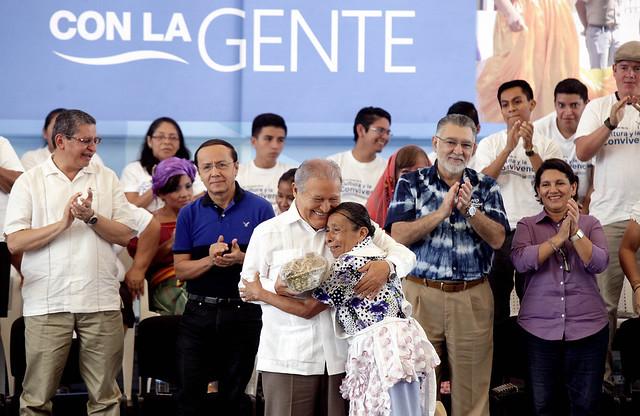 Festival de Buen Vivir y Gobernando con la Gente Cojutepeque