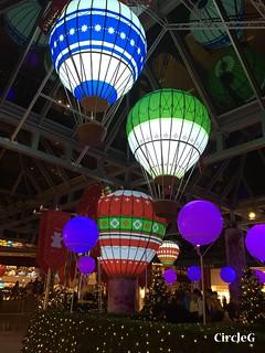 CIRCLEG 香港 太古 鰂魚涌 太古城 TAIKOO Cityplaza 熱氣球 2016聖誕 遊記 聖誕 2016  (6)