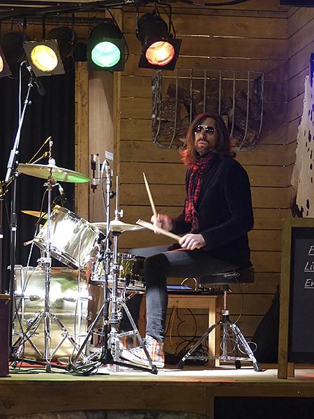 musicien winter wnderland