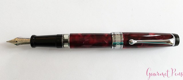 Review Aurora Optima Fountain Pen - Italic @AndersonPens @KenroPens 8