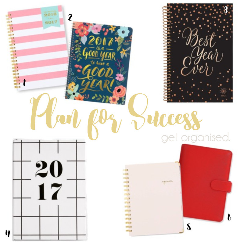 2017 Planners Kikki K., Day Designer, Filofax, Bloom Daily Planners, Good Year Planner, Sugar Paper