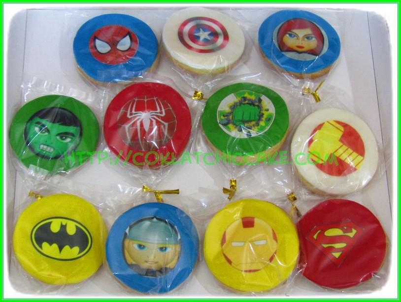 cookies avengers