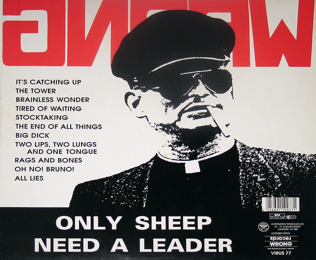 """NOMEANSNO Wrong Only Sheep Need a Leader 12"""" Vinyl LP"""