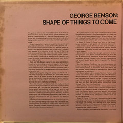 GEORGE BENSON:SHAPE OF THINGS TO COME(JACKET C)