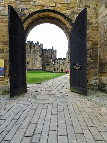 Alnwick Castle Doorway