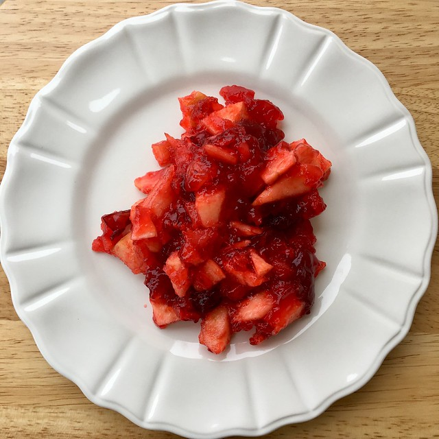 Cranberry Apple Jello Salad