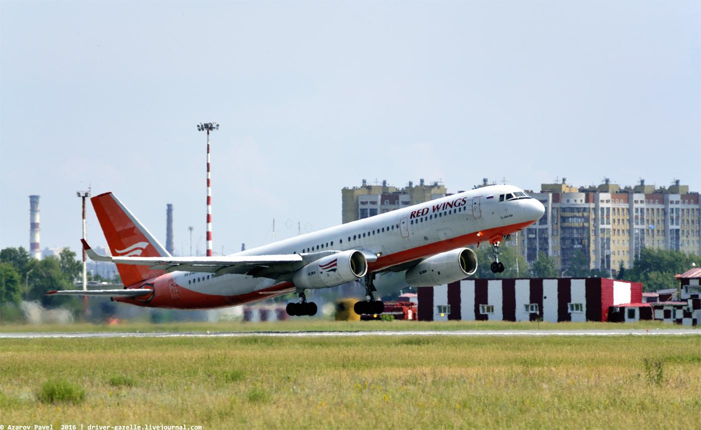 Takeoff, runway 25