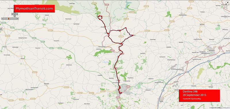 Dartline Route-398