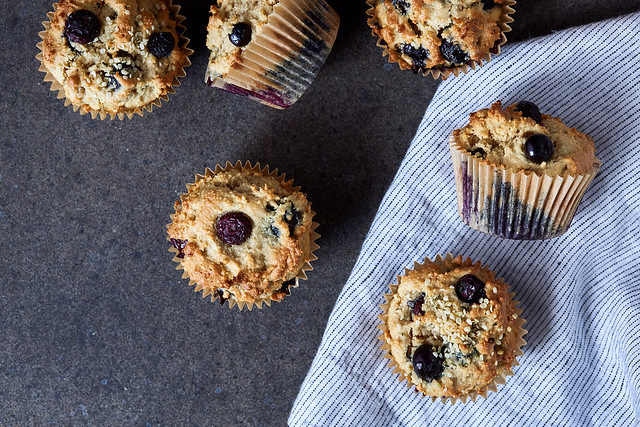 Grain-free Almond Flour Muffins {gluten-free, dairy-free, paleo-friendly}
