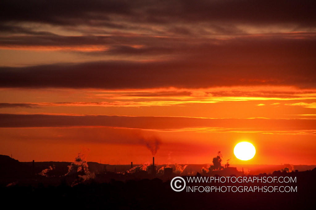 20091219Sunrise over Port Talbot 2