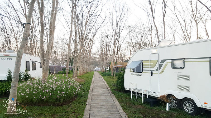 glamping in singha RV