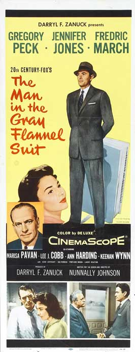 The Man in the Gray Flannel Suit - Poster 3