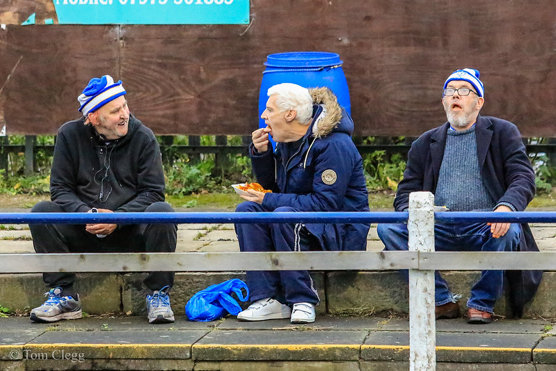 Whitley Bay FC 1 v 3 Shildon AFC ENL1 10th Dec 2016