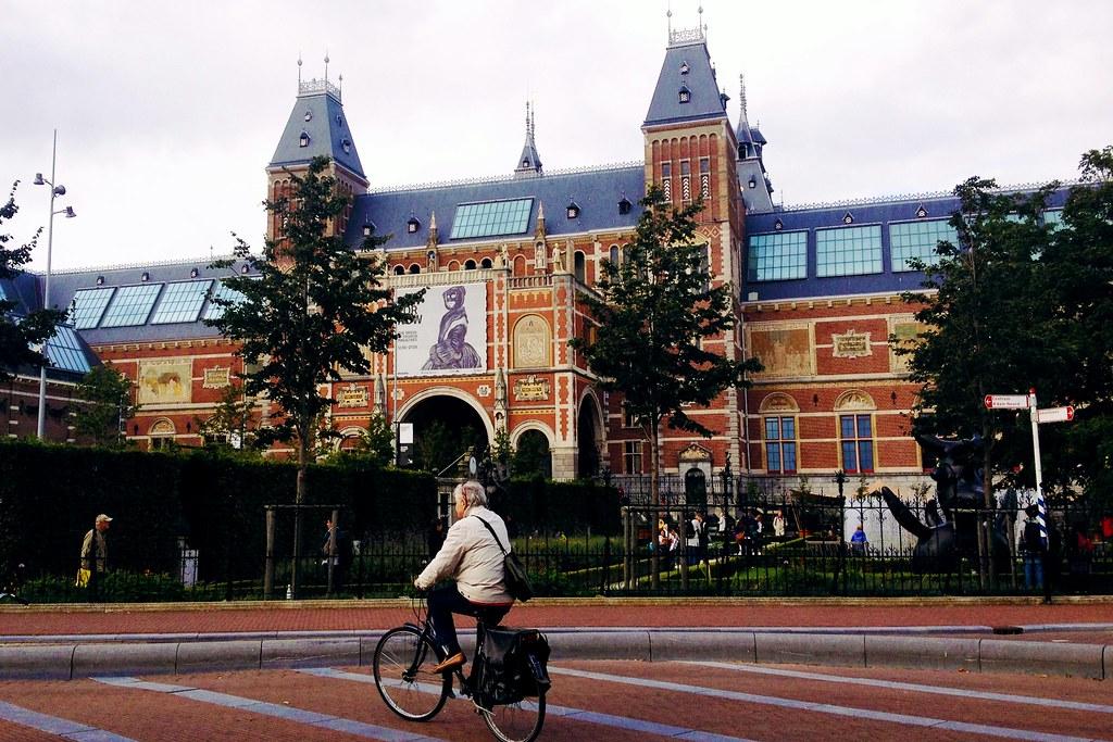 Drawing Dreaming - dois dias em Amsterdão - Museumplein