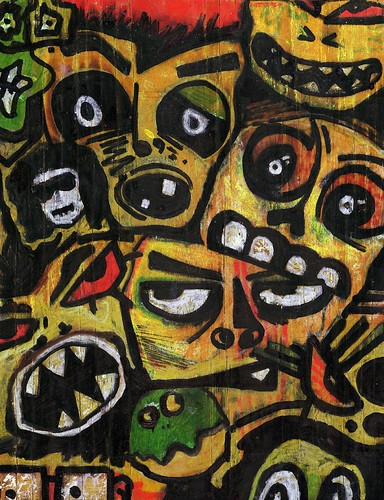 [mb] Scary Faces | by Merrick Brown