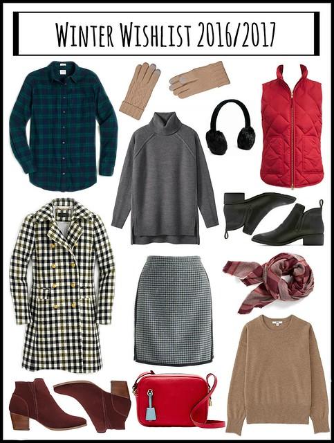winter style wishlist 2016 2017; Style On Target blog