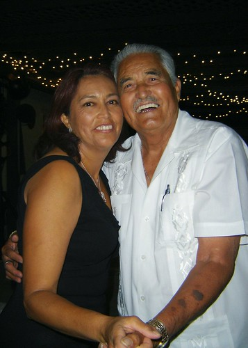Mom and Papá Chepe are not the kind to pass up dancing