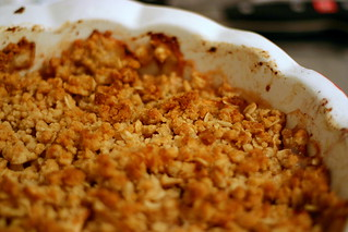 deb's apple crumble/isp | by smitten kitchen