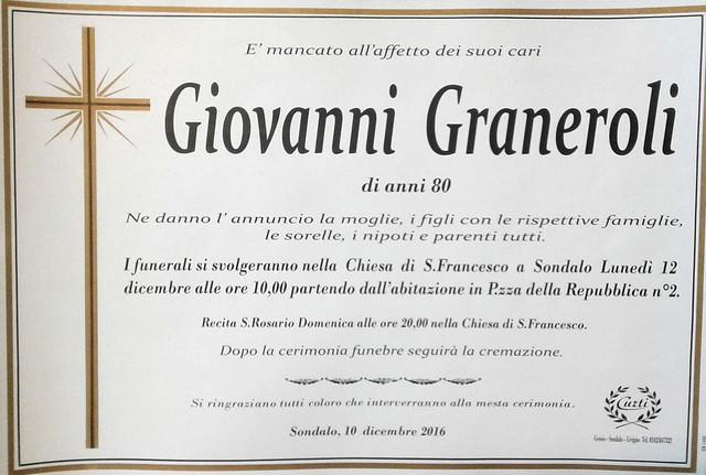 Graneroli Giovanni