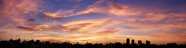 9-18 sunset Tokyo
