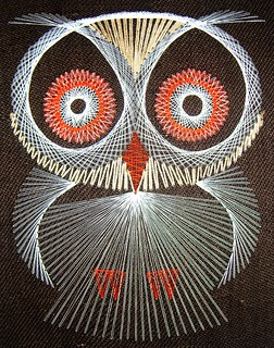 AND he can make string art owls?? | by Darwin Bell