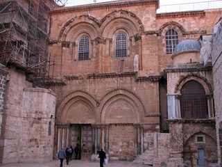 Jerusalem - Church of the Holy Sepulchre Entrance | by *Checco*