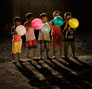 shadow of children ... | by Mat Padin