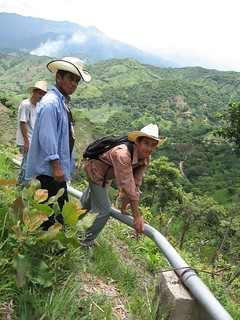 Water pipeline in Honduras | by Water, Sanitation, and Hygiene Photos