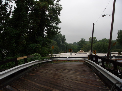 Talbot Avenue Bridge Towards Rosemary Hills