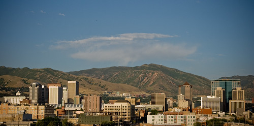 Salt Lake City Skyline | by Scott O. Smith -1