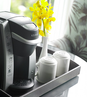 Keurig Coffee Makers in all Guest Rooms | by thepalmshotel