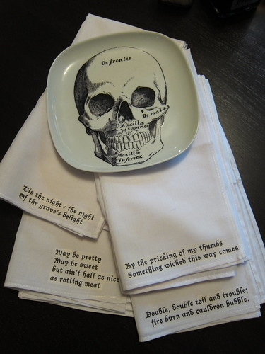 #300 - Halloween Napkins | by katbaro