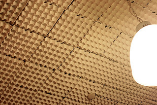 Soundproofing with egg cartons? | by Camemberu