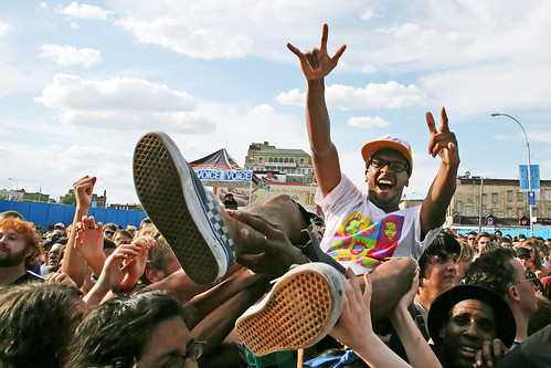 Crowdsurfer at Siren Music Festival | by Kathryn Yu