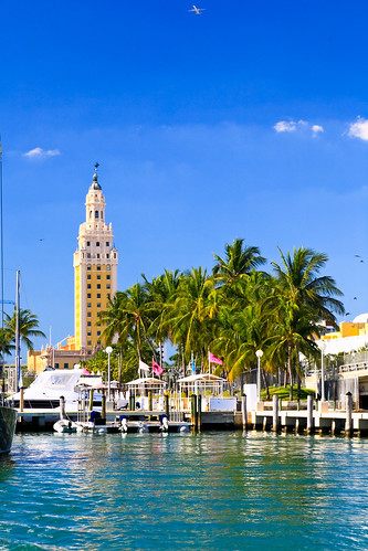 Freedom Tower and Bayside Marketplace | by thepalmshotel