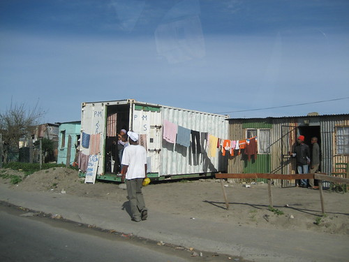 Khayelitsha containers and housing