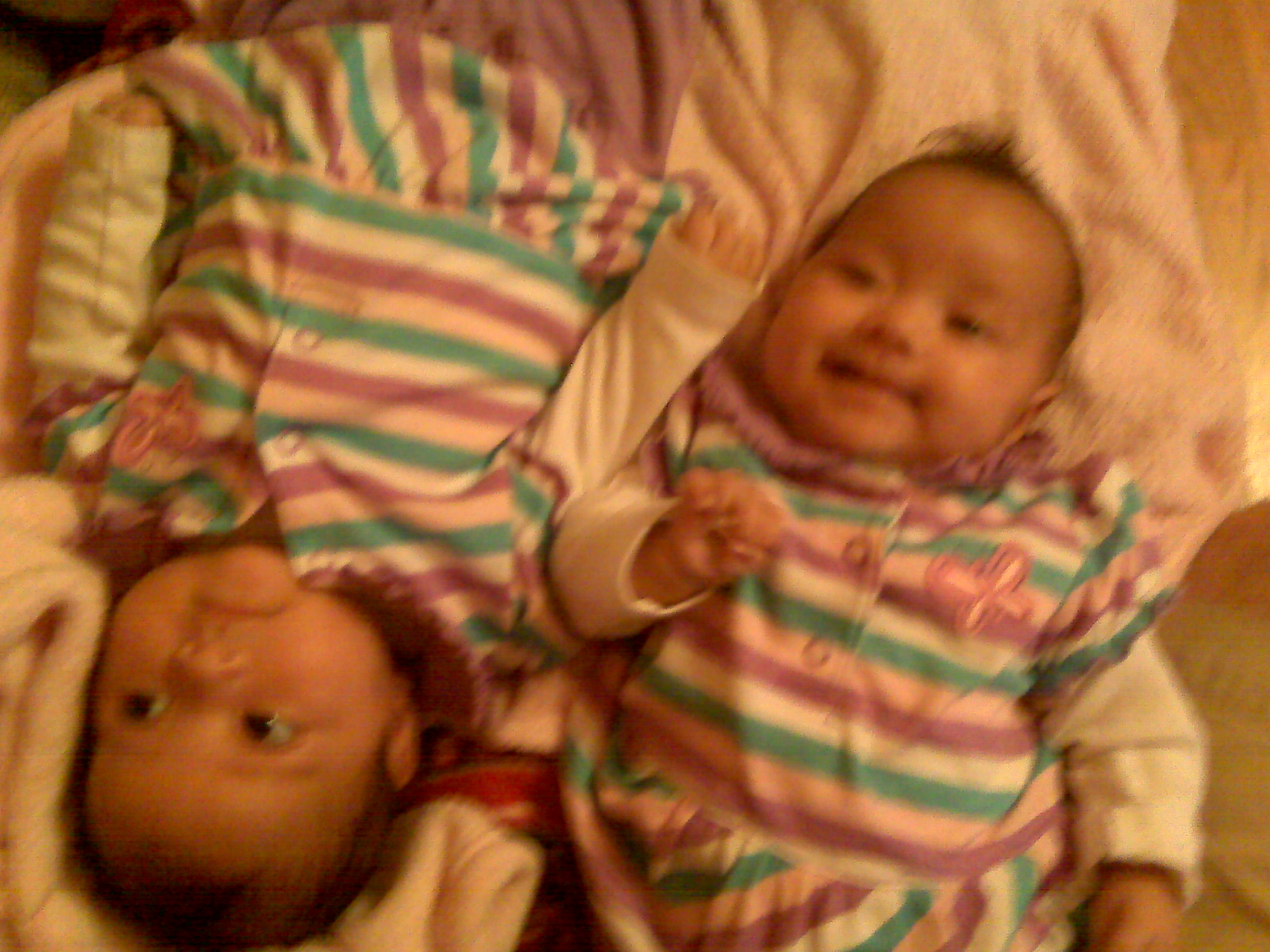 Citlali Olivia & Paloma Edith Do Purple. #newborns #tinyperfections