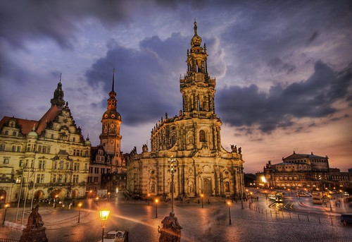 Stück in Germany - Dresden After the Bombing, Way after the Bombing | by Stuck in Customs