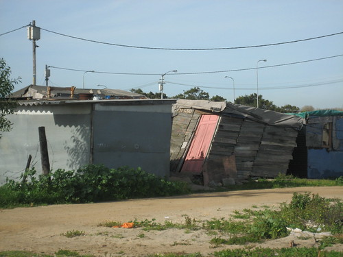 Khayelitsha shacks precarious
