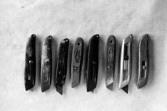 utility knife collection | by eab AOD