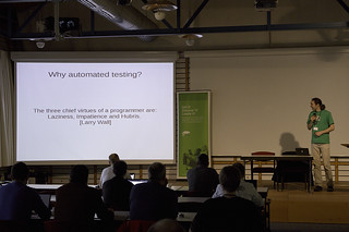 Bernhard on automated testing | by Andreas Jaeger