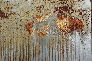 Grunge Textures: A rusting tank with spill marks | by Craig Jewell Photography