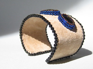 Black and Blue Cuff | by MEDUSA JEWELLERY