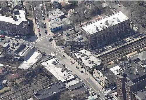 Urban design Forest Hills, NY railroad station