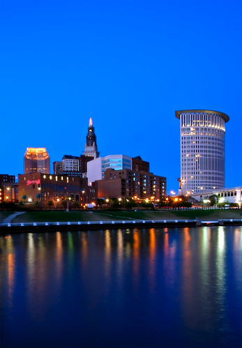 Cleveland At Night | by Andrew Morrell Photography