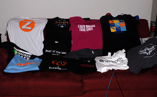 SES San Jose 2007 Schwag: Shirts Only | by Tamar Weinberg