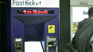 Media Surfaces: The Journey: ticket machines that calm down the queue | by BERG Studio