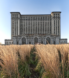 Detroit Train Station | by Bob Jagendorf